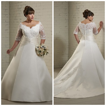 1220 Bonny Bridal Plus Size Wedding Dress