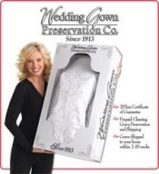 wedding dress preservation company, wedding dress preservation, wedding gown preservation kit