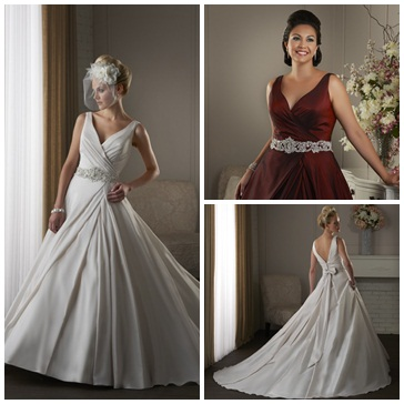 bonny wedding dress style 420