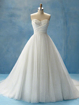 Alfred angelo wedding gowns review offers brides an array for Alfred angelo cinderella wedding dress