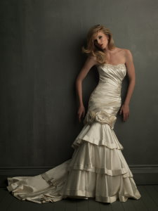 allure 8700 convertible detachable skirt wedding dress