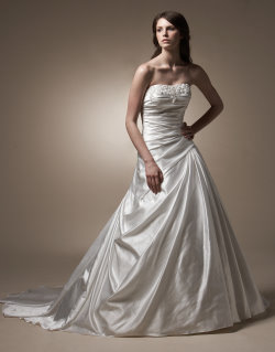 anjolique petite wedding dress