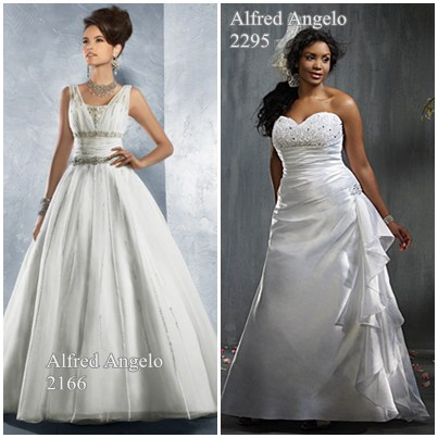 beautiful alfred angelo wedding gowns