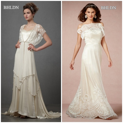 vintage look wedding dresses