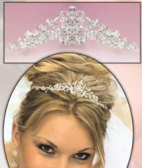 tiara for the bride, bridal tiara, wedding tiara