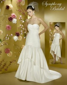 convertible wedding dresses, symphony bridal