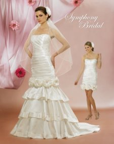 convertible wedding gowns, symphony bridal
