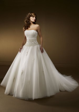 fairytale wedding dresses, mori lee 2161