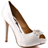 ivory bridal wedding shoes