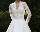 long sleeve wedding dress thumb