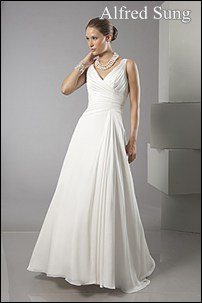 mature brides dress
