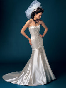 mermaid wedding gowns, trumpet wedding dress, mermaid bridal gowns