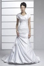 modest wedding dress venus bf045