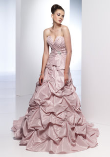 pink wedding dresses, alyce 7760