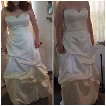 restyle wedding gown