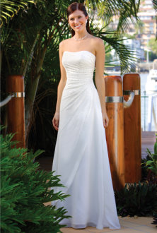 strapless wedding dresses, strapless bridal dresses