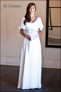 the mature bride dress