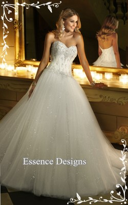 the perfect wedding dress essence designs