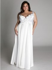 unique plus size wedding dress, Igigis enchanted wedding dress
