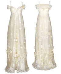 vintage wedding dress claire pettibone