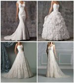which wedding dress shape