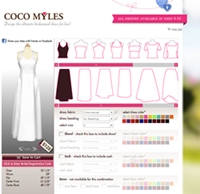 Design wedding dress online tools bring your design to life for Virtual try on wedding dress