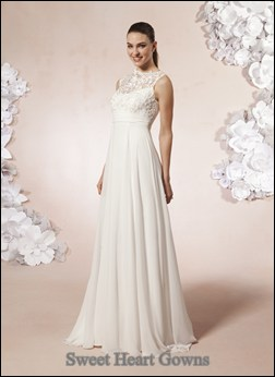 wedding dress mature bride