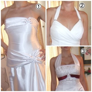 redesign a wedding dress