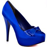 royal blue bridal wedding shoes
