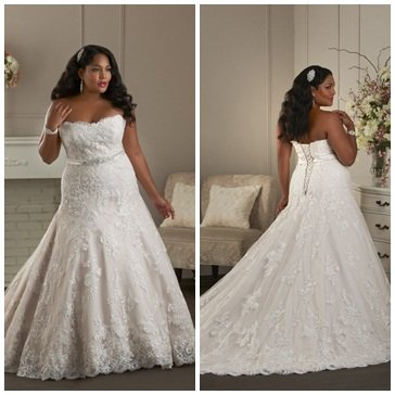 Tips for buying plus size wedding gowns for Perfect wedding dress finder