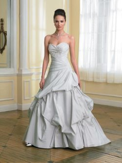 sophia tolli blue wedding gown