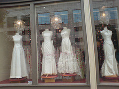 Plus size bridal gown shopping at the bridal shop for Wedding dress shops reading