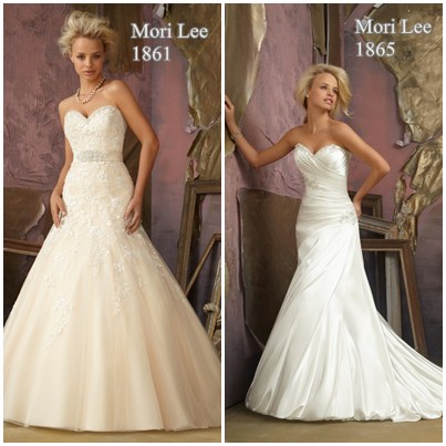 Best wedding dresses for an inverted triangle body shape for Wedding dresses for broad shoulders