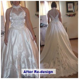 after redesign of mothers gown