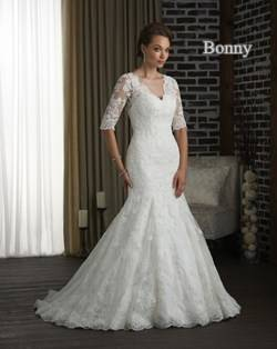 Glamourous Pictures Of Long Sleeved Wedding Dresses