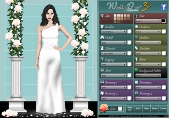wedding dress design creator