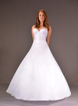 How to pick a bridal petticoat for Perfect wedding dress finder