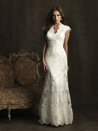 Allure Bridal Modest Wedding Dress style M476