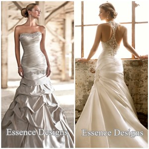 below are my top 4 places to start looking for the a unique designed wedding dress