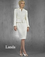 White Wedding Suit by Landa