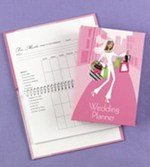 Bridal planning guide book